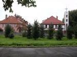 entrance way to Auschwitz I (Stammlager)